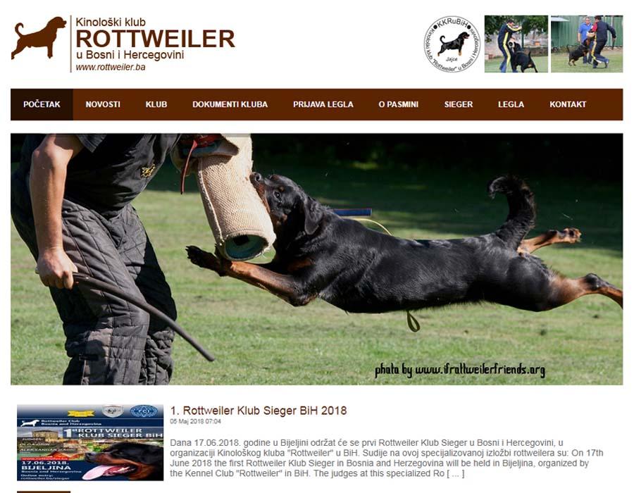 Rottweiler klub u BiH