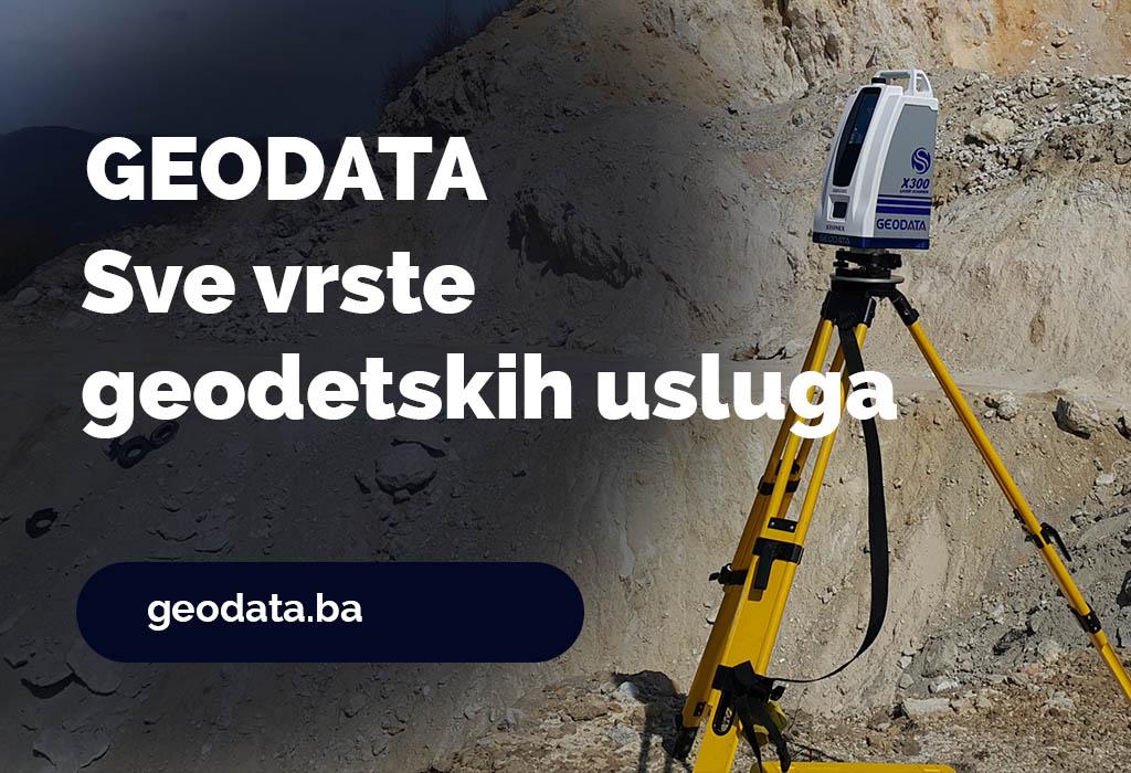 Geodata - Sve vrste geodetskih usluga