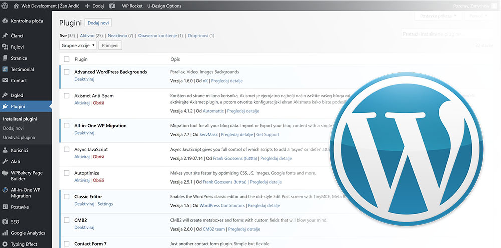 WordPress vs custom cms